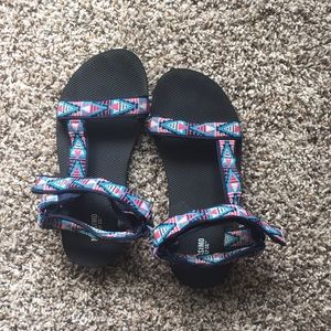 Target Chaco hiking sandals